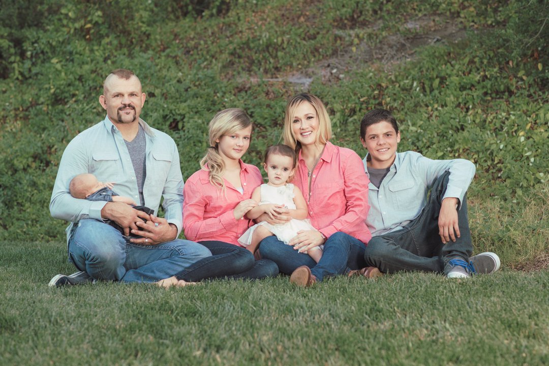 Chuck Liddell Family Photo Shoot